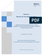 Manual de Uso Base de Datos EPSCT 2015