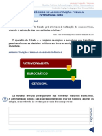 Resumo 2340135 Leonardo Albernaz 32638725 Administracao Publica Aula 01 Modelos Teoricos de Adm Publica Patrimonialismo
