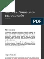 01 - Introduccion Metodos