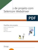 FILIPE HENRIQUE ARRUDA - Padrões de Projeto Com Selenium Webdriver