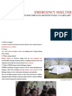 Presentation Emergency Shelter