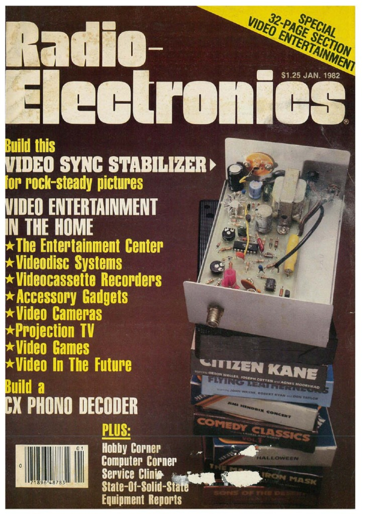 Radio Electronics January 1982pdf Ttl Logic 7400 Series Ic Integrated Circuits 7472 7496 Select Type