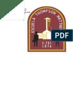 Membrete Ilustre Municipalidad de Lota