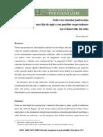 Sobre Vinculo Padre-hijos en El Fin de Siglo. Victor Guerra