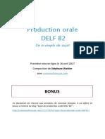 Sujet Po Delf B2
