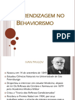 Aprendizagem No Behaviorismo-power Poin