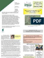February 2009 Southwestern Flyer Newsletter Fort Worth Audubon Society