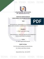 Motivación en el aprendizaje de la programación (tesis de maestría).pdf