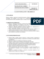 Manual Organizacional Man Org 105