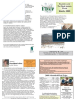 March 2009 Southwestern Flyer Newsletter Fort Worth Audubon Society
