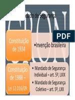 21586923 Aes Constitucionais Mandado de Segurana Ao Popular e Ao Civil Publica