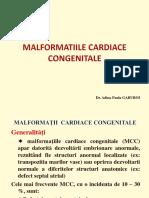 4. Cardiologie - Malformatiile Cardice Congenitale
