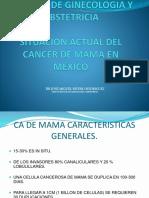CA de Mama Epidemiologia 2017