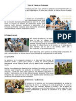 Tipos de Trabajo en Guatemala