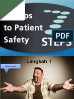 7 Langkah Keselamatan Pasien