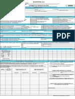 46784 Ecp-dhs-f-152 Formato de Permisos de Trabajo en Frio