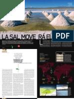Reportaje sobre el Litio - Revista DT de España