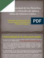 Universalidad de la educación media en Uruguay