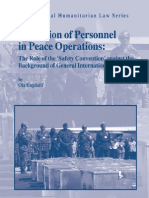 Protection of Personnel in Peace Operations