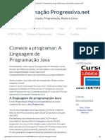 Comece a Programar_ a Linguagem de Programação Java _ Programação Progressiva