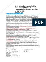 Digital Função de Forma de Onda Arbitrária Gerador de Fonte de Sinal DDS Dual