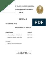 Informe 5 Fisica General