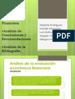 analisis de conclusiones y recomendaciones de tesis desodorantes