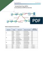 Actividad Packet Tracer OSPFv2