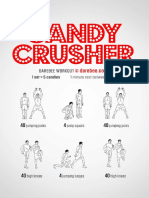 Candy Crusher Workout
