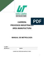 Manual de Metrología PIM01-2017