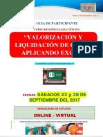 Brochure Valorización y Liquidación de Obras Aplicadondo Excel (1)