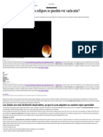 Eclipses Astrofísica