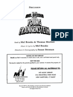 Young Frankenstein - Percussion