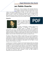 Biografia de Juan Pablo Duarte