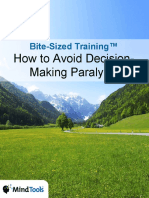 BiteSizedTraining-DecisionMakingParalysis