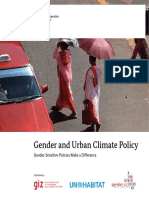 Gender and urban climate policy. Gender-sensitive policies make a difference