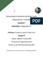 Actividad Integradora Etapa 2-Español1
