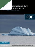 Derecho Internacional y El Artico