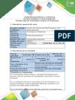 Guía de Actividades y Rúbrica de Evaluación - Tarea 2 - Tipos de Célula y Organismos Acelulares