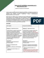 Comisiones Abiertas - Reforma estatutaria 2017 - Propuesta de la MD 2017