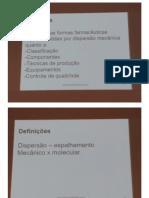 Emulsões e Estabilidade de Medicamentos