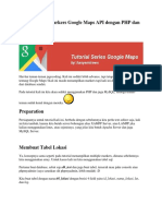 Menampilkan Markers Google Maps API dengan PHP dan MySQL.docx