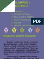 Perubahan Sistem Endokrim