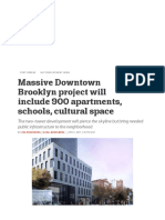 Massive Downtown Brooklyn Project Will Include 900 Apartments
