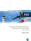 European ATM Network Operations Performance Plan Assessment 2011-2014