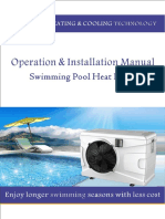 Installation Manual of Lailey&Coates Pool Heat Pump MANUAL BOMBA de CALOR en WORD