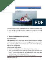 Kapal Tunda ( Tug Boat )