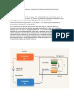 Función de Un Condensador Generador en El Sistema de Adsorcion Parte de Trabajo
