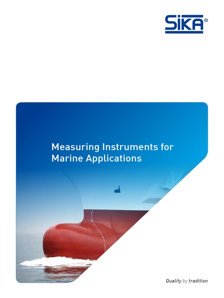 SIKA Marine 2016 | Flow Measurement | Thermometer