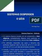 Sistemas Dispersos e Géis